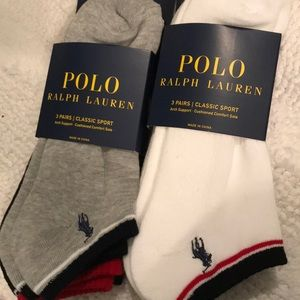 6 pairs Polo low cuts arch support